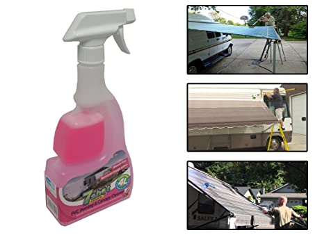 7 Shot PVC Awning u0026 Canopy Cleaner - RV Motorhome Caravan Algae Protects Flexible Amazon.co.uk DIY u0026 Tools  sc 1 st  Amazon UK & 7 Shot PVC Awning u0026 Canopy Cleaner - RV Motorhome Caravan Algae ...