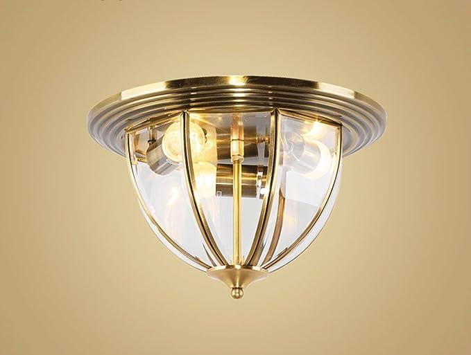 Plafoniere Per Lampade Led E27 : Jcrnjsb® lampade da soffitto in stile europeo piena trasparenza