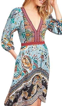 cef12a8337bb3 Anthropologie Beaded Karmina Dress by Akemi+Kin - NWOT (6) at Amazon ...