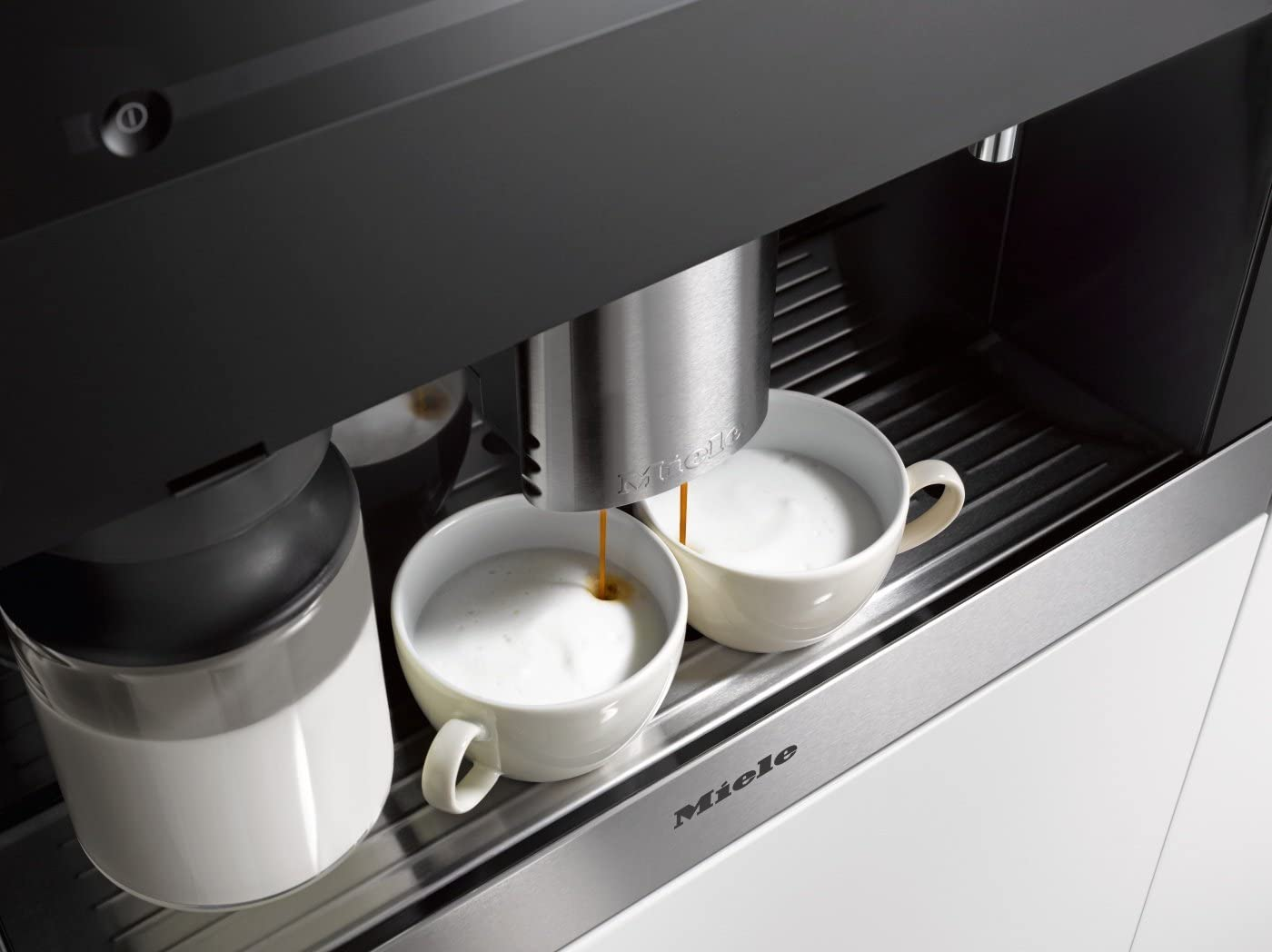 Miele 9521960 CVA6401 - Cafetera automática (sistema de moldeo de ...