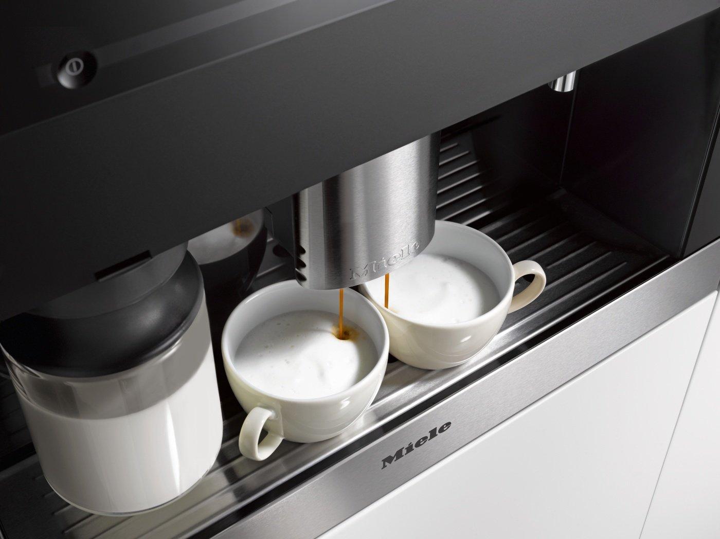 Amazon.de: Miele CVA 6401 Einbau-Kaffeevollautomat mit ... | {Einbaukaffeevollautomaten 49}