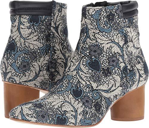 Bernardo Women's Izzy Boot Blue Jacquard 6 M US M