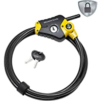 Master Lock Veiligheidskabel met sleutelslot [Verstelbare vergrendelingskabel van 30 cm tot 1,8 m] [Python] 8433EURD…