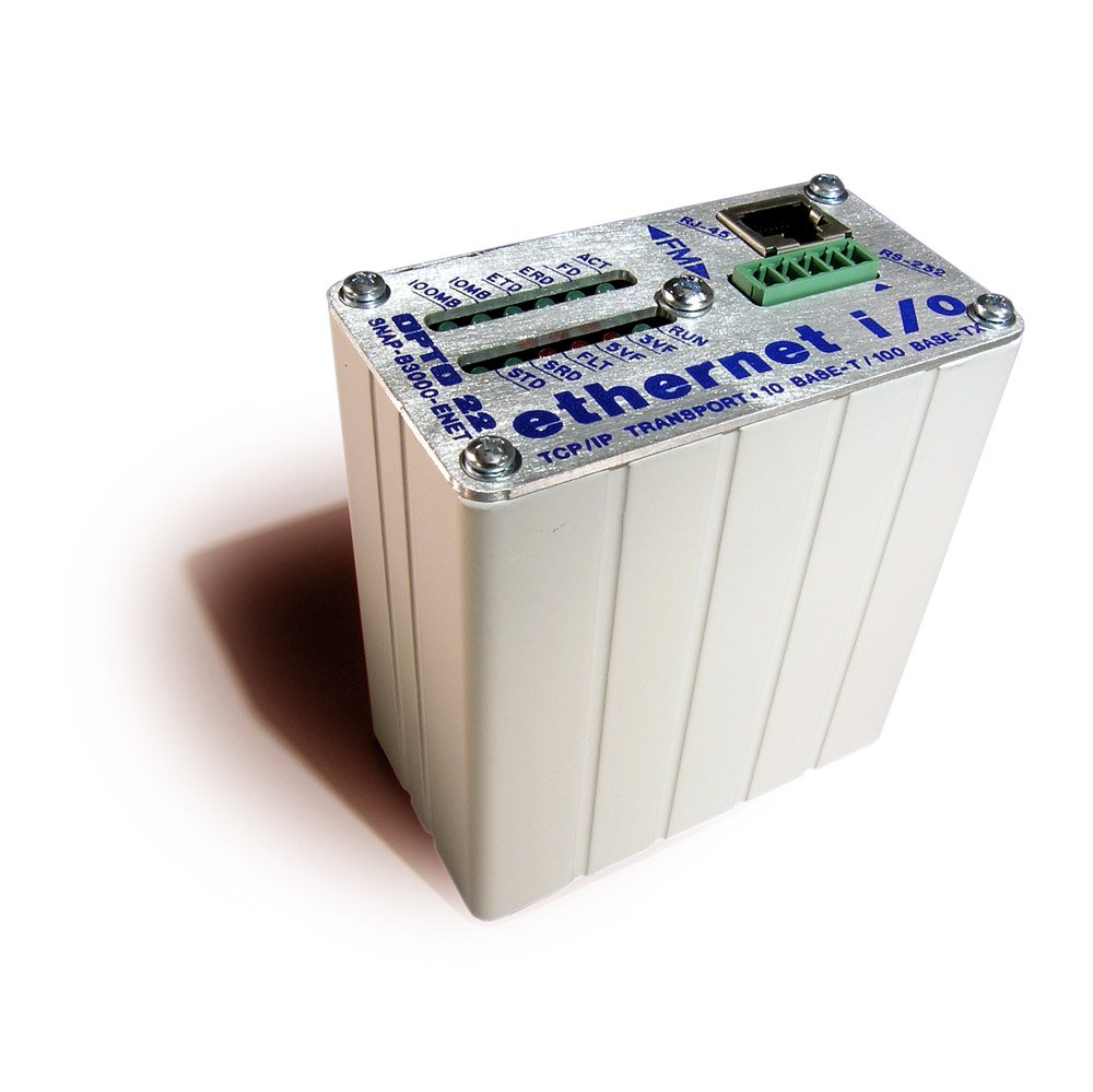 Opto 22 SNAP-B3000-ENET Snap Ethernet Serial I/O Brain, Analog/Digital