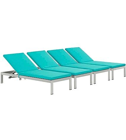 Amazon.com: Moderna silla contemporánea de balcón para patio ...