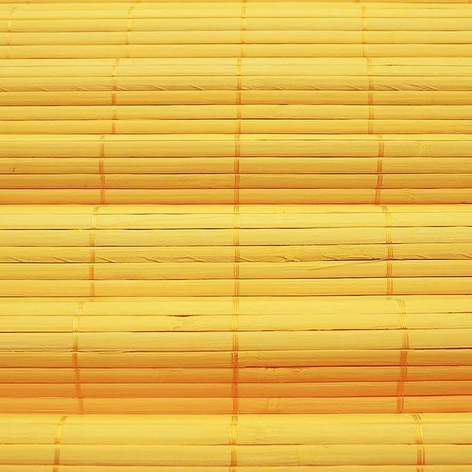 pour lint/érieur Store Bambou 100 x 160 cm Cerise Store en Bambou avec syst/ème Klemmfix sans pr/é-per/çage Victoria M