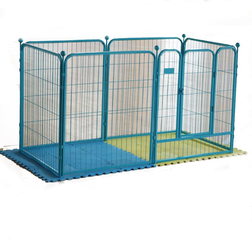 折り畳み式の金属製犬クレート,塀,ペットの猫,プラスチック障壁フェンス,犬ケージ,犬のフェンス ペット犬クレート ポータブル猫ケージ犬小屋屋内 屋外ペット木枠 -グリーン 142x71x80cm(56x28x31inch) B07CVV2586 25549 142x71x80cm(56x28x31inch)|グリーン グリーン 142x71x80cm(56x28x31inch)