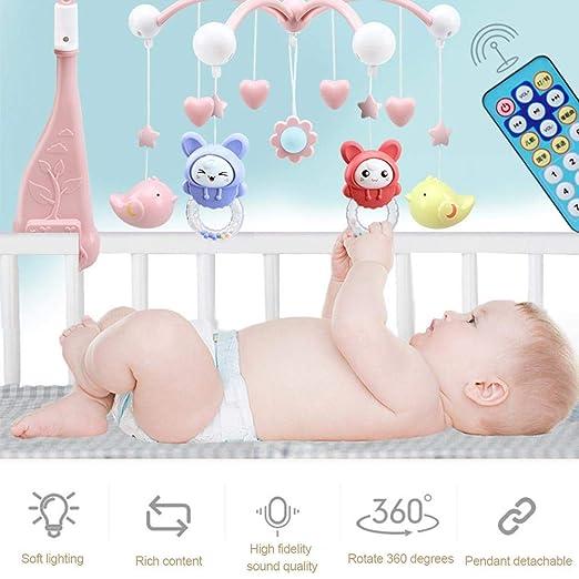 Seasons Shop Cuna Proyector Cuna Musical Móvil para Bebés con ...