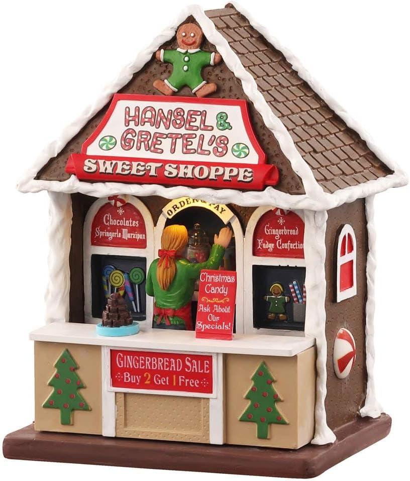 3 V Lemax 04736 Hansel /& Gretels Sweet Shoppe B//O