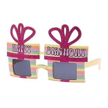 Amazon.com: Gafas de sol con forma de caja de regalo para ...