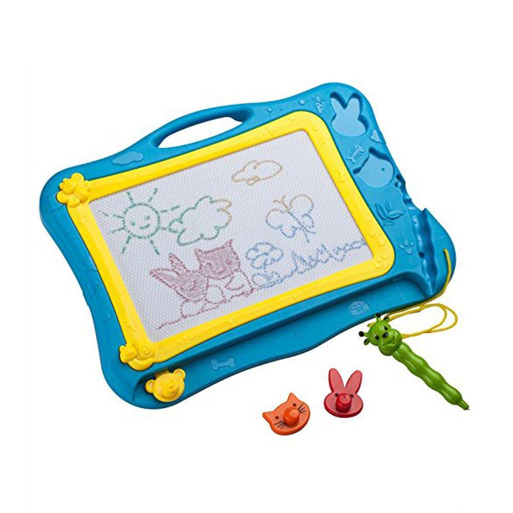 Jouet Educatif MIMINUO Ardoise Magique Peinture /Écriture Color/és Tableau De Dessin pour Enfant 3 ans Bleu