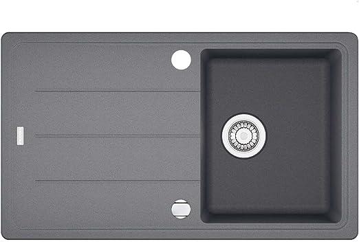 Franke Basis BFG 611-86 Steingrau Granit-Spüle Spülbecken Spültisch Küche  Einbau