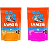 Iams ProActive Health Oral Care Daily Cat Treats 2-Pack Variety Bundle- Chicken and Salmon 2.47oz