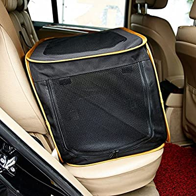 """A4Pet 27"""" Pet Car Travel Crates Carrier for Medium Dog, Puppy and Cats"""