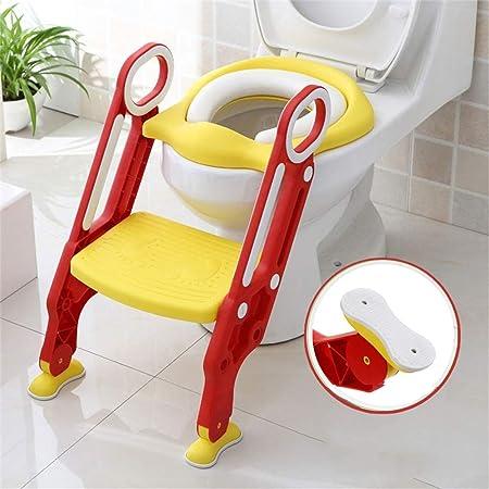 Sinbide Toilettentensitz kinder|Toiletten-Trainingssitz| WC-Trainer|Töpfchen-Sitz mit Doppelseitige Armlehnen für Kinder von