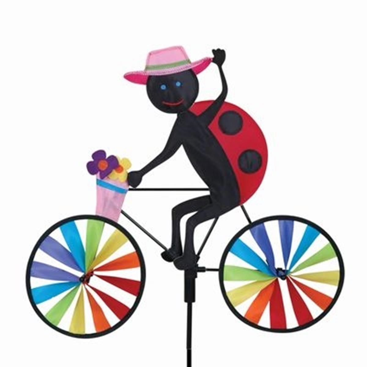 20 in。Bike Spinner – Ladybug B007CL7JT0