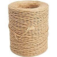 Qeedio - Cuerda de alambre de hierro recubierto