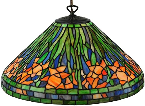 Meyda Tiffany 31094 20 W Hanging Daffodil Pendant