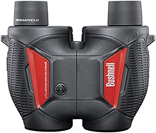 Bushnell Waterproof Spectator Sport Binocular, 8x25mm, Black BS1825