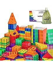 Magnetic Blocks, Magnetic Tiles, Toys for 2 3 4 5 Year Old Boys Girls