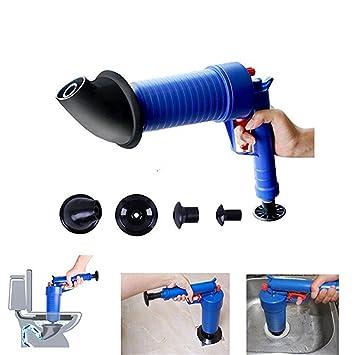 Abfluss Reinigungs Werkzeug Toiletten Kolben Luft Ablass Blaster