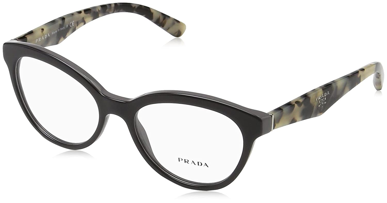 7a01c11bbf Amazon.com  Prada Women s PR 11RV Eyeglasses Opal Grey Grey 52mm  Shoes