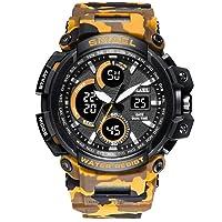 SMAEL Deporte Relojes 2018 Hombres Reloj Impermeable LED Reloj Digital Masculino Reloj Relogio Masculino Erkek KOL Saati 1708B Hombres Relojes