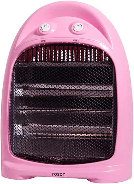 Heater Calentador portátil Rosado de 800W, Ventilador de ...