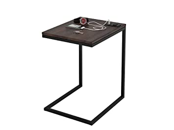 reputable site 783ad ffe7c Z-Line Designs ZL080STU Tech C End Table, Black