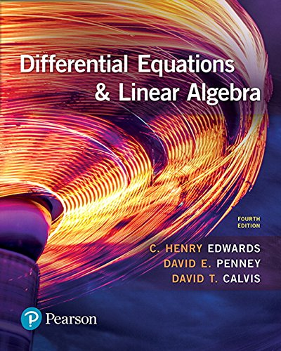 013449718X - Differential Equations and Linear Algebra (4th Edition)
