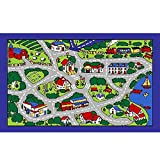 City Map Children Area Rug 39''x58''