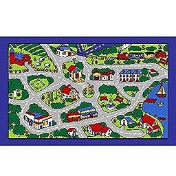 City Map Children Area Rug 39\