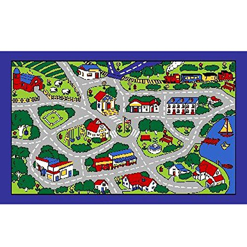 "City Map Children Area Rug 39""x58"""