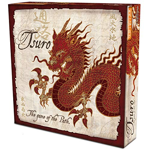 Calliope Tsuro - The Game of The Path - A Family Strategy Board Game (Best Military Strategy Board Games)