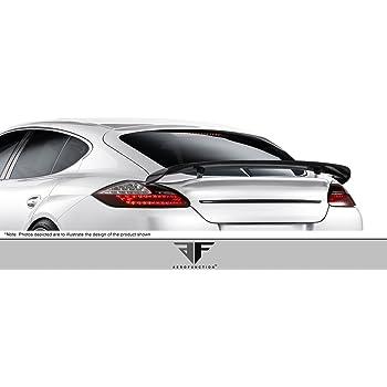 2010-2015 Porsche Panamera Carbon AF-1 Rear Deck Lid Spoiler (CFP)  - 3 Piece