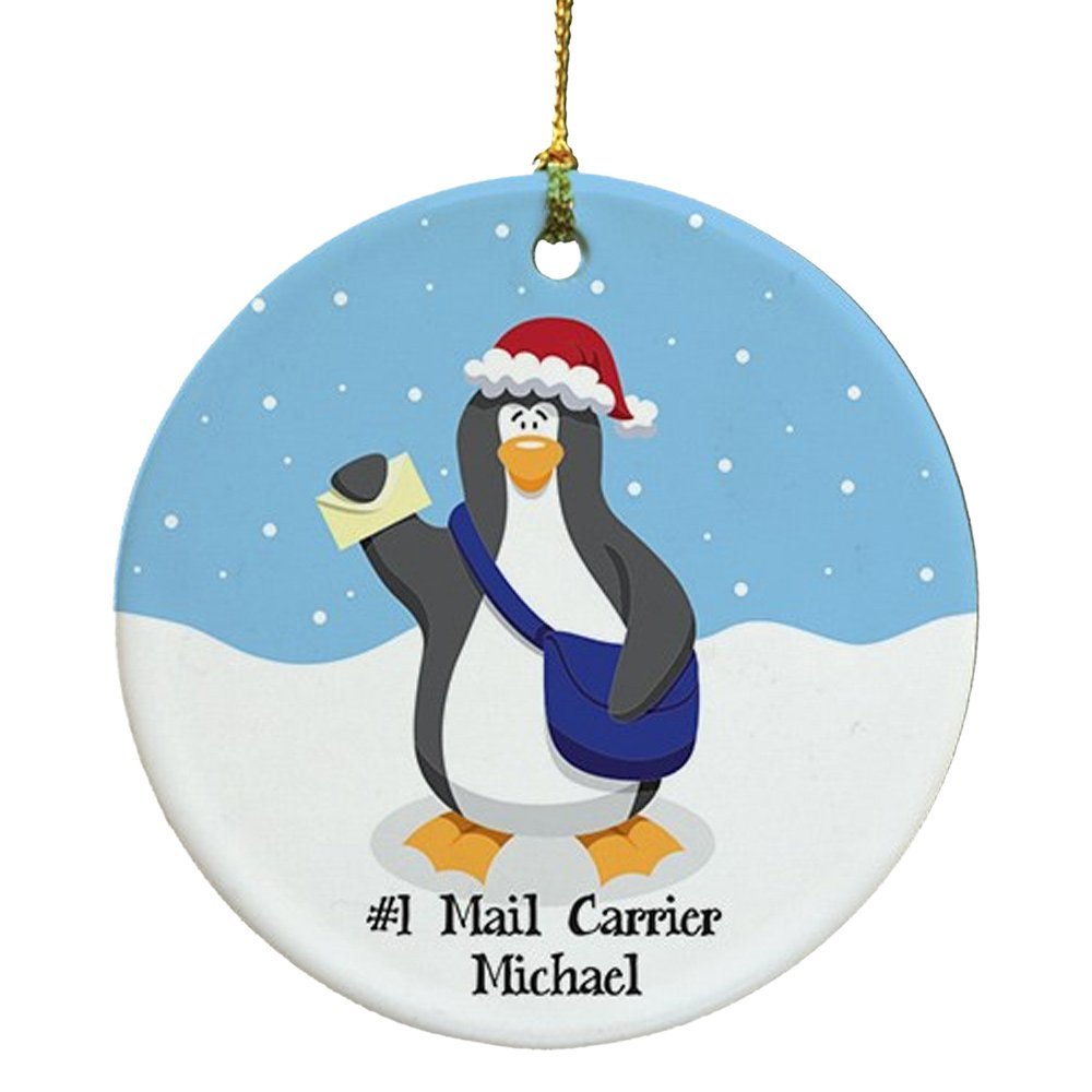 Amazon.com: Personalized Mail Carrier Ornament: Home & Kitchen