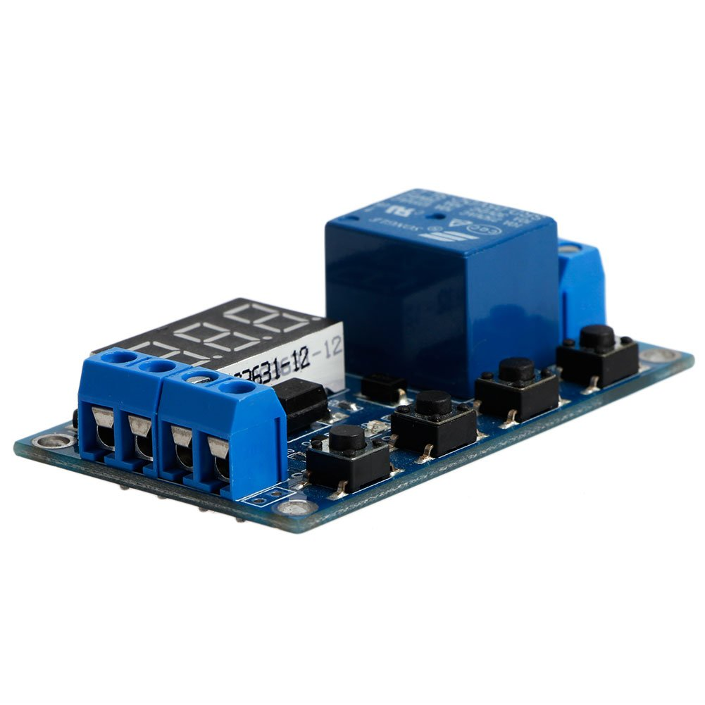 Wrisky 6 30v Relay Module Switch Trigger Time Delay Circuit Timer Timedelaycircuit Cycle Adjustable