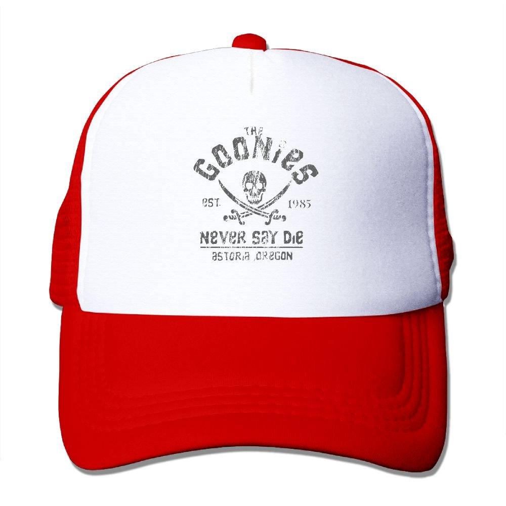 Mieba The Goonies - Never Say Die Mesh Hat Traveler Trucker Hats Ash