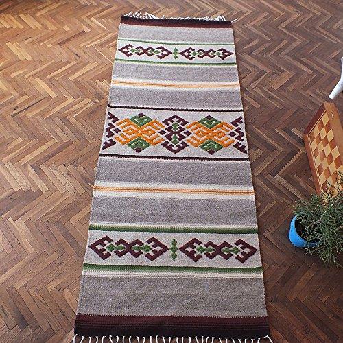 Handwoven wool rug with ornaments, stylish home decor rug, kilim rug, ornamental rug, bohemian rug, tribal - Rug Ornament Traditional