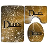 Dance New Arrival Skidproof Toilet Seat Cover Bath Mat Lid Cover