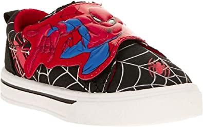 Children's Casual Trainers Spiderman Red