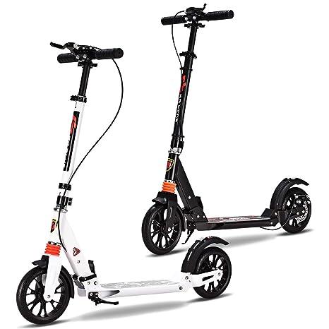 COSTWAY Patinete City Roller - Patinete Plegable Big Wheel ...