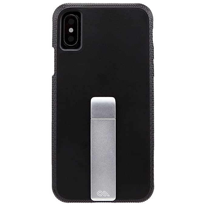 info for 2510e 08147 Case-Mate iPhone X Case - Tough Stand - Stylish Rugged - 10 ft Drop  Protection - Slim Protective Design for Apple iPhone 10 - Black