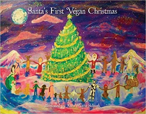 Top Vegan Children Books Santa first Vegan Christmas