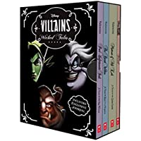 Disney: Villains Wicked Tales Boxed Set (3 Books & 1 Journal)