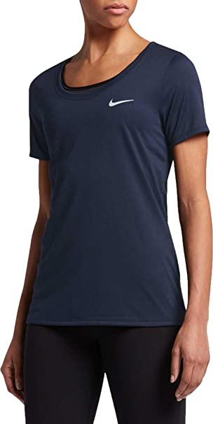 d903baa486f1f Amazon.com: NIKE Dry Training Womens Shirt Fitness/Workout: Sports ...