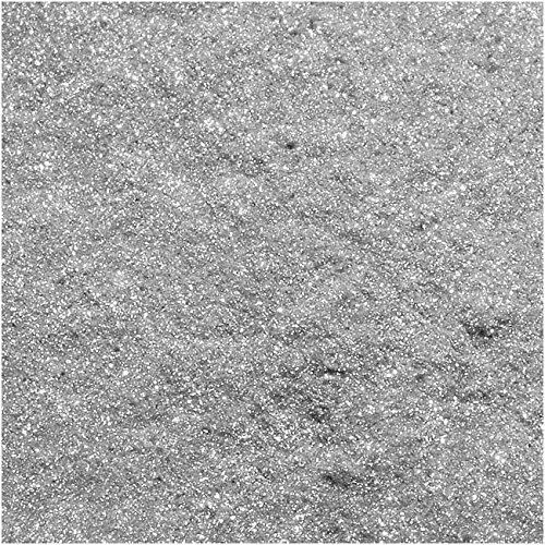 Crystal Clay XTL-1155 1.5g Sparkle Dust Mica Powder, Silver (Sifter Silver)