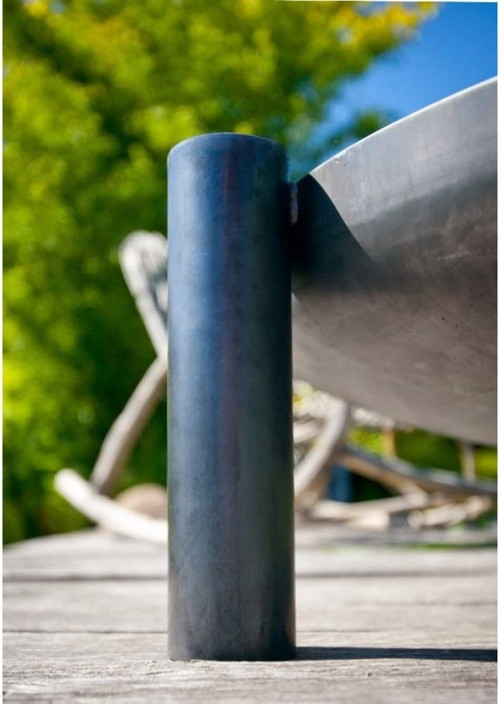 FARMCOOK Feuerschale PAN 38 Stahl unbehandelt in drei Gr/ö/ßen /Ø 60 cm
