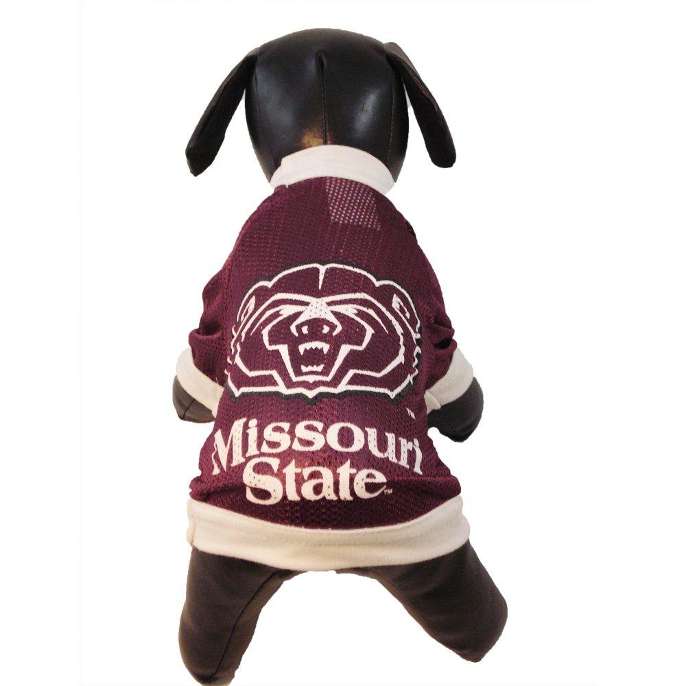 Medium All Star Dogs Missouri State Bears Athletic Mesh Dog Jersey (Team color, Medium)