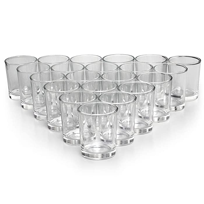 The Best Clear Glass Hurricane Votive Candle Holder For Scones